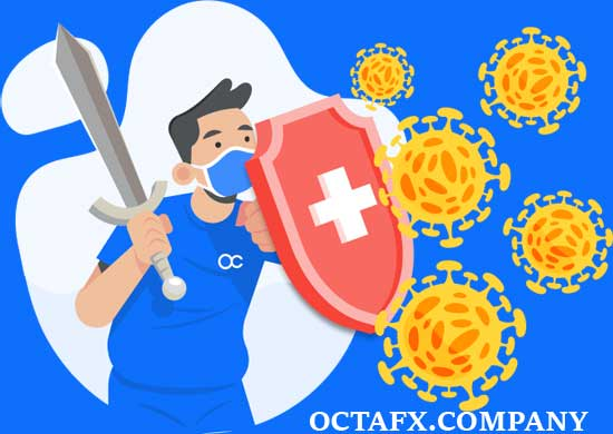 Donasi OCTAFX melawan Corona